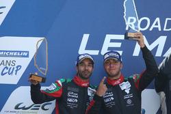 Podium: #97 TF Sport Aston Martin V12 Vantage GT3: Ahmad Al Harthy, Tom Jackson