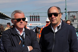 Marcello Lotti und Gerhard Berger