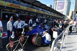 The car of Marcus Ericsson, Sauber C36