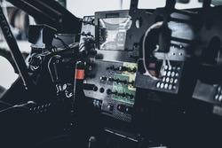 Peugeot 3008DKR Maxi cockpit detail