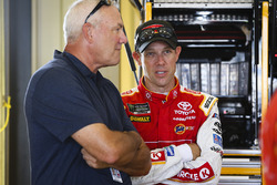 Matt Kenseth, Joe Gibbs Racing Toyota, Dale Jarrett
