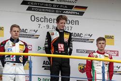 Podium: 1. Felipe Drugovich, Van Amersfoort Racing, 2. Michael Waldherr, Neuhauser Racing, 3. Juri Vips, Prema Powerteam