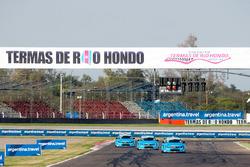 Ники Катсбург, Нестор Джиролами и Тед Бьорк, Volvo S60 Polestar TC1