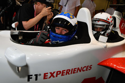 David Saelens, F1 Experiences 2-Seater Driver with Owen Wilson, Actor