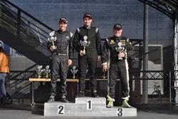 Ralf Henggeler, Denis Wolf, Daniel Borer, podium