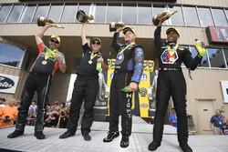 1. Pro Stock Bike: Eddie Krawiec; 1. Pro Stock: Drew Skillman; 1. Funny Car: Robert Hight; 1. Top Fuel: Antron Brown