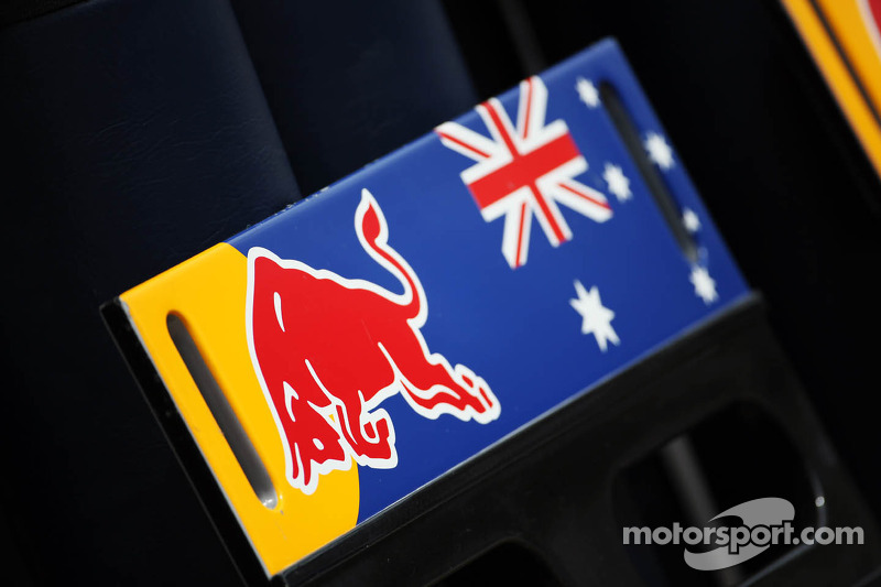 Board for Mark Webber, Red Bull Racing