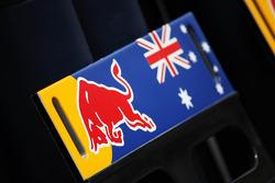 Board for Mark Webber, Red Bull Racing