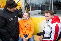 Pierre Kaffer, Norbert Siedler and Marc Lieb