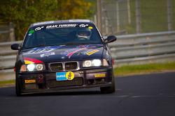 #109 BMW M3: Axel Hörger, Michael Hess, Thomas Baltzer