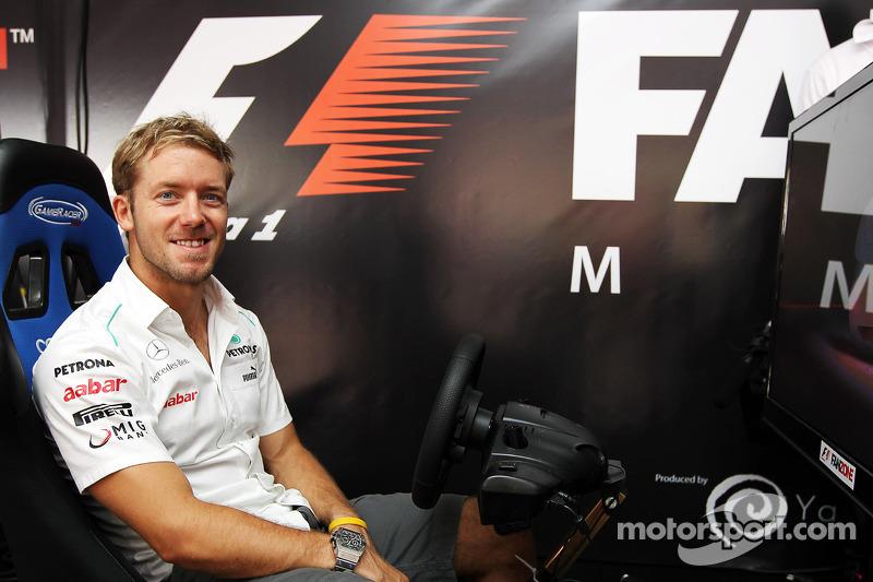 Sam Bird, Mercedes AMG F1 Test And Reserve Driver in de Fanzone