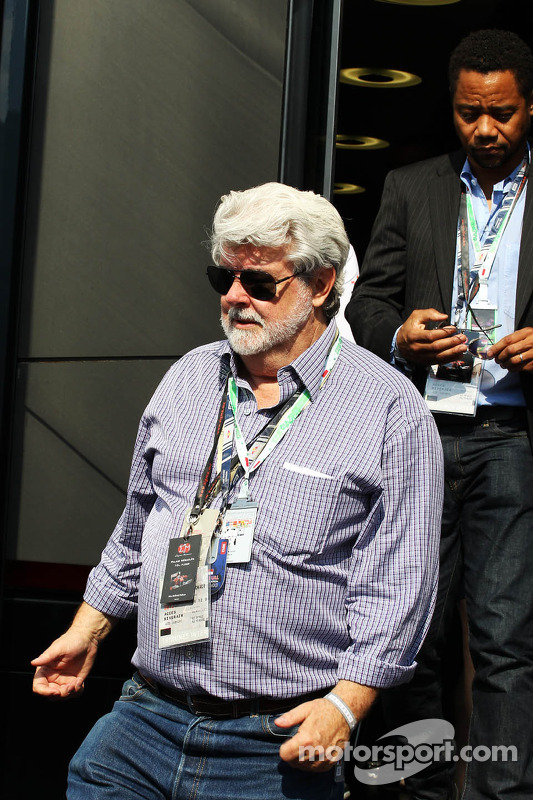 George Lucas, Star Wars Creator met Cuba Gooding, Jr., Acteur