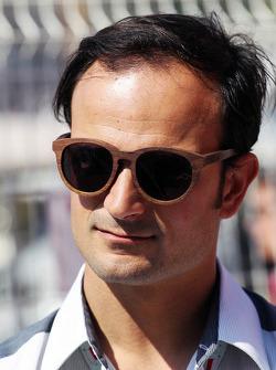Витантонио Льюцци. ГП Монако, Воскресенье, перед гонкой.