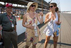 Ashley Judd and Emma Davies