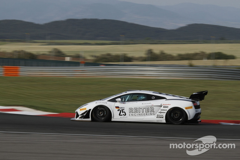 #25 Reiter Engineering Lamborghini Gallardo LP600: Peter Kox, Darryl O'Young
