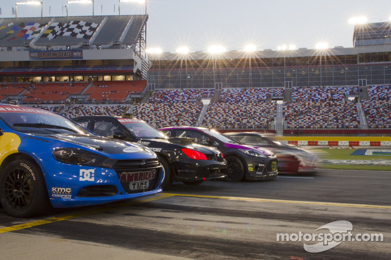 Global Rallycross cars ready