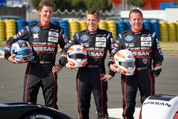 Nissan photoshoot: #42 Greaves Motorsport Zytek Z11SN Nissan: Alex Brundle, Martin Brundle, Lucas Ordonez
