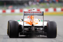 Paul di Resta, Sahara Force India leaves the pits