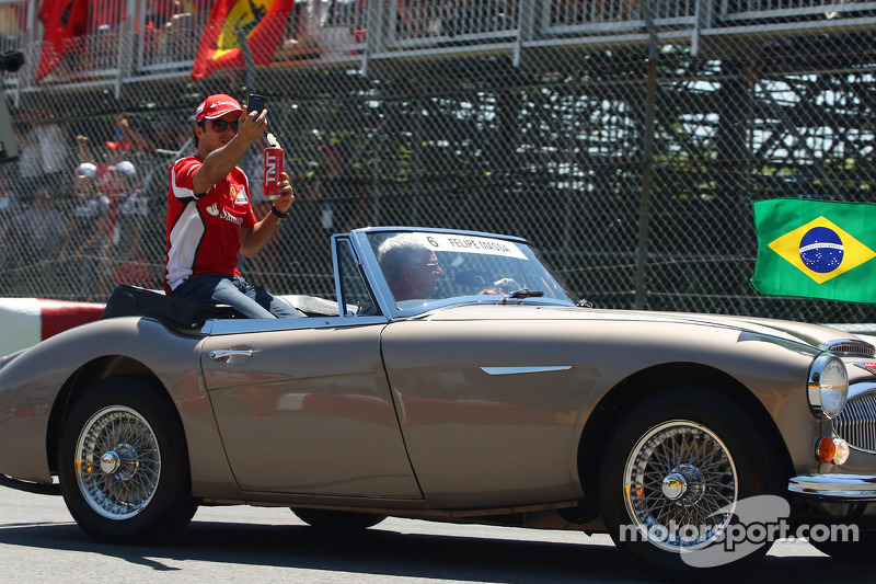 Felipe Massa, Scuderia Ferrari rijdersparade