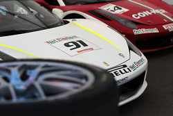 Guy Leclerc Ferrari of Ft Lauderdale 458CS, Frank Fusillo Ferrari of Ft Lauderdale 458CS