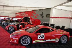 Al Hegyi Ferrari of San Diego 458CS, Bret Lawrence  Ferrari of San Diego, Bob Callahan Ferrari of San Diego,