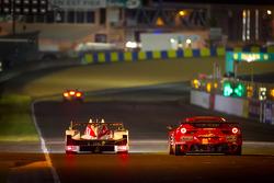 #42 Greaves Motorsport Zytek Z11SN Nissan: Alex Brundle, Martin Brundle, Lucas Ordonez, #61 AF Corse-Waltrip Ferrari F458 Italia: Robert Kauffman, Rui Aguas, Brian Vickers