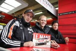 Marco Holzer, Jörg Bergmeister, Patrick Long