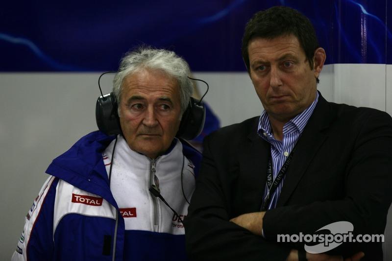 Hugues de Chaunac, Team Principal Oreca and Gérard Neveu, President of FIA WEC