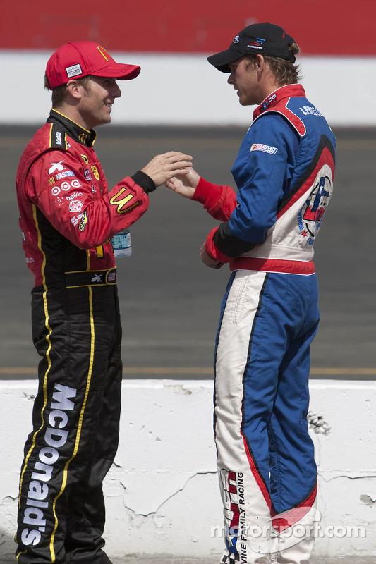 Jamie McMurray and Scott Speed