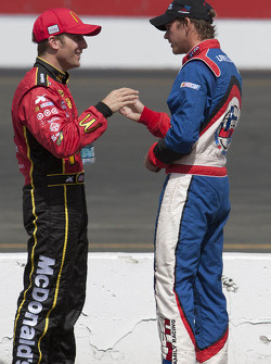 Jamie McMurray and Scott Speed