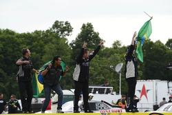 Turner Motorsports celebrates Nelson Piquet Jr.'s win