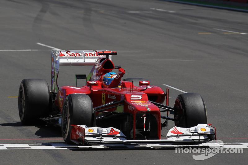 2012. Валенсія. Переможець Фернандо Алонсо, Ferrari
