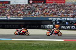 Dani Pedrosa, Repsol Honda Team y Casey Stoner, Repsol Honda Team