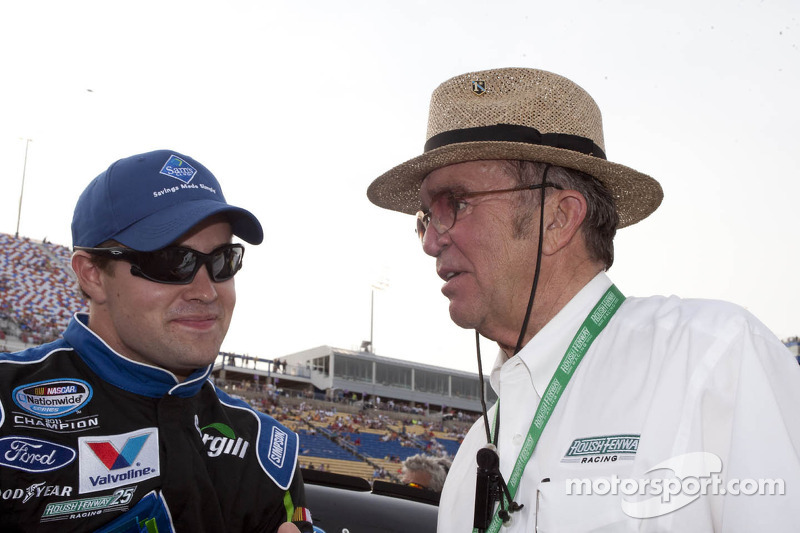 Ricky Stenhouse Jr. en Jack Roush