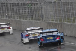 Joey Hand, BMW Team RMG BMW M3 DTM, Roberto Merhi, Persson Motorsport AMG Mercedes C-Coupe