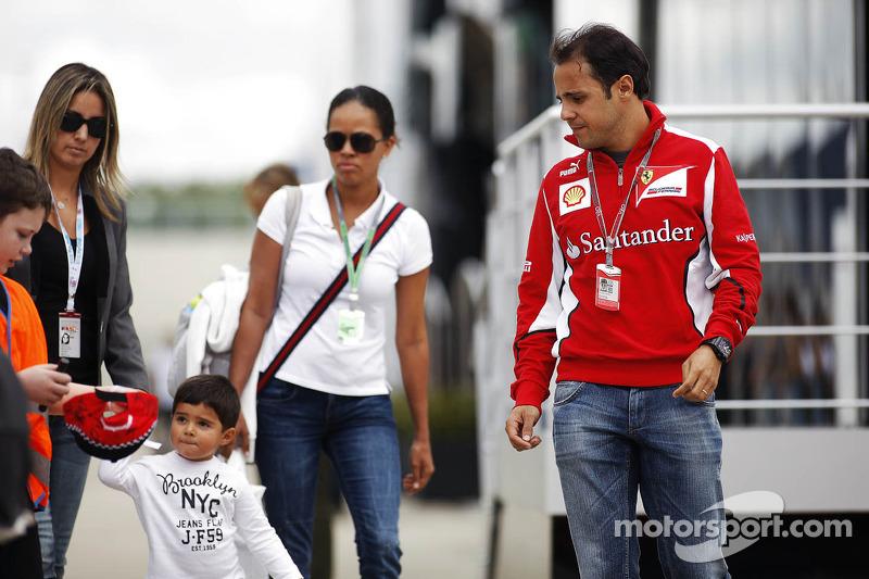 Felipe Massa, Ferrari met familie