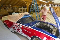 Bob Sharp with a 70's era Datsun