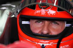 Михаэль Шумахер. ГП Великобритании, Субботняя квалификация.
