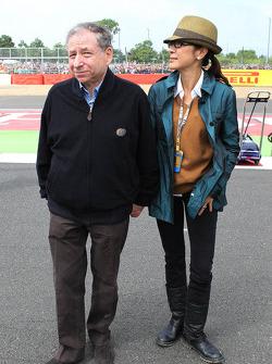 Jean Todt, Presidente de la FIA con Michelle Yeoh