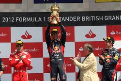 Fernando Alonso, Scuderia Ferrari, Mark Webber, Red Bull Racing en Sebastian Vettel, Red Bull Racing