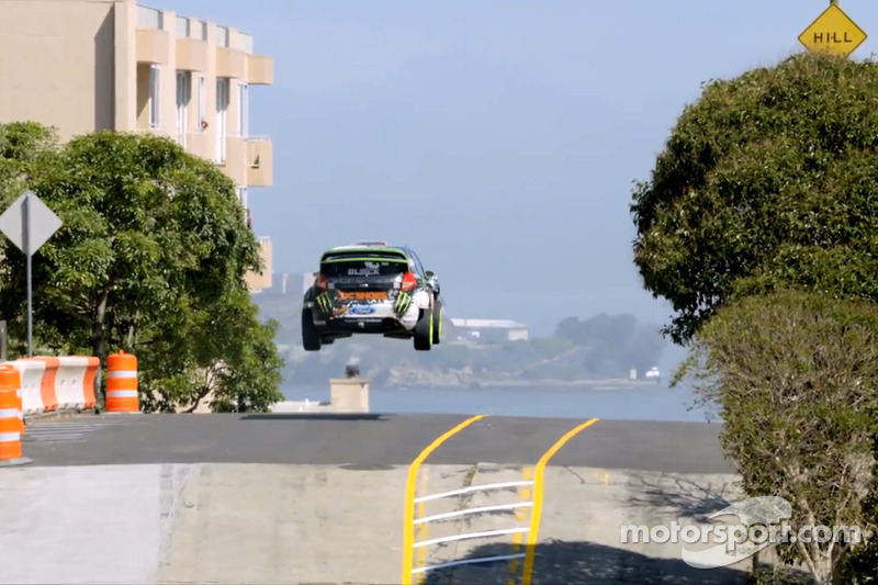 Ken Block in the streets of San Francisco