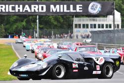 #50 Lola T70 MKIII: Tierry Latre Du Bosqueau, Bruno Van Marsenille