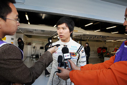 Ma Qing Hua, Hispania Racing F1 Team, Test Driver with the media