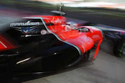 Max Chilton, Marussia F1 Team Test Driver leaves the pits