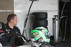 Conor Daly's helmet