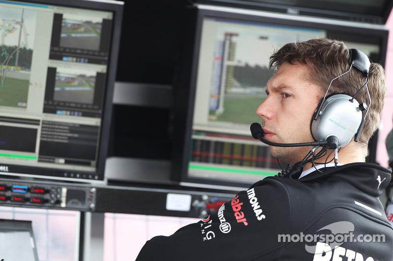 James Vowles, Mercedes AMG F1 Chief Strategist