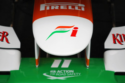 Sahara Force India F1 nosecone and front wing