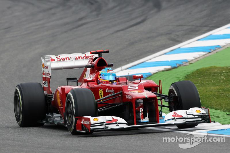 2012 - Hockenheim: Fernando Alonso, Ferrari F2012