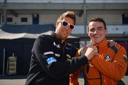 Pepe Oriola, SEAT Leon WTCC, Tuenti Racing Team and Norbert Michelisz, BMW 320 TC, ZengoMotorsport