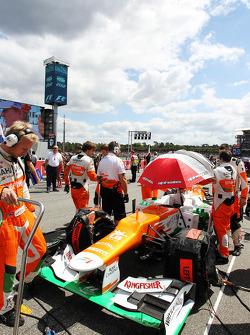 Sahara Force India F1 de Paul di Resta, Sahara Force India en la parrilla